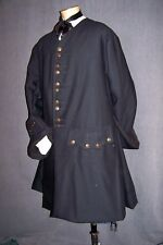 Frock Coat Adult Custom Colonial Rev War POTC Pirate Rendezvous 18th Cent Linen