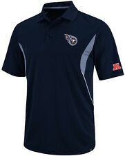 Tennessee Titans NFL Team Apparel Field Classic Dri Fit Polo Shirt Big Sizes