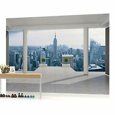 New York Empire State Penthouse View Photo Wallpaper Wall Mural (CN-1323VE)