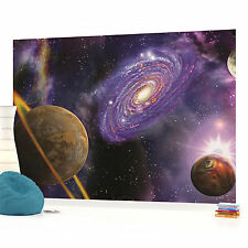 Space Planets Photo Wallpaper Wall Mural (CN-309P)