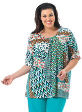 Plus Size 16-36: Mix N Match Pleat Front Top Plus Size
