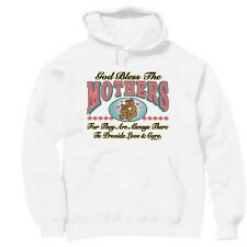 Pullover Hooded hoodie sweatshirt Family God bless the Mothers mom mother