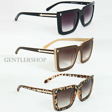 Mens Fashion Two Tone Rectangular Frame Fashion Sunglasses - 1830, GENTLERSHOP