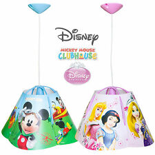 Disney Princess / Mickey Mouse Children's Pendant Ceiling Light Lamp Shade