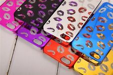 New Hot Marc By Marc Jacobs transparent lip Case Cover for iphone 5 5S 5G