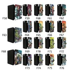 DC MARVEL SUPERHERO COMIC BOOK FLIP CASE COVER FOR APPLE IPHONE IPOD & IPAD - TF