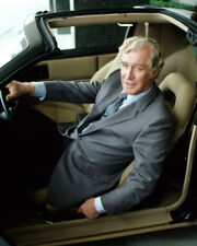 KNIGHT RIDER EDWARD MULHARE SITTING IN CAR WEARING SUIT HAND ON WHEEL PHOTO OR P