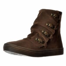 Womens Blowfish OHMY Wedged Platform Winter Ankle Biker Military Boots Shoe Size