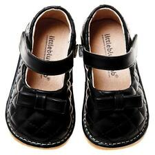 Girls Black Mary Jane Shoes. Little Blue Lamb. Excellent Quality. Sizes 3-7.