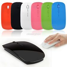 6 Colore  wireless Mouse 2.4 GHZ Ottico  Mini USB senza filo ultra
