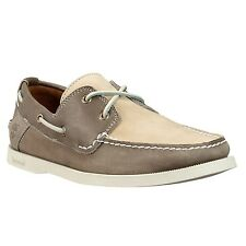 NWB Timberland Men's Earthkeepers Heritage 2Eye Boat Gray Shoes Style #6362R