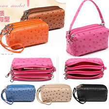 2015 new fashion women lady gril coin key phone case small wallet PU zip purse