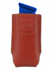 NEW Barsony Burgundy Leather Single Magazine Pouch Sig Sauer Full Size 9mm 40 45