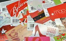 MACY'S Gift Cards Lot NO DOLLAR VALUE Collector's Item Hard to Find Designs