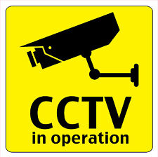 CCTV IN OPERATION FULL COLOUR SIGN FOR SHOP BUY 3 GET 1 FREE