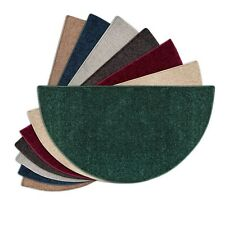 """Goods of the Woods Flame Polyester Hearth Rugs 4ft. Half-Round 48""""x 27"""""""