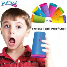 As Seen On TV Wow Cup For Kids The Spill Free Cup 6 Colors - BPA Free - 9 Ounce