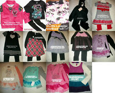 * NWT NEW GIRLS 2PC HEARTS SWEATER WINTER OUTFIT SET 2T 3T 4T 5 6 6x