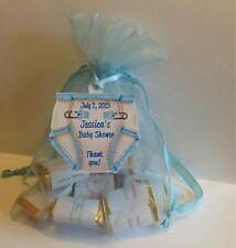 Baby Shower Favor Tags - Diaper Shaped - Super Cute! - Qty. 30 to 100