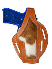 New Barsony Tan Leather Custom Gun Holster for Taurus Full Size 9mm 40 45