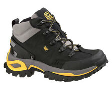 Men's Caterpillar Interface Hi Steel Toe Work Boots Black Medium (D, M) P89715