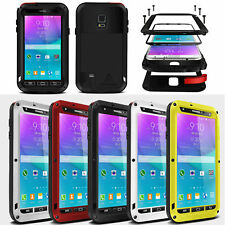 Aluminum Waterproof Gorilla Glass Case Cover for Samsung S3 S4 S5 Note 3 Note 4
