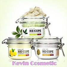 RECEIPE SLOWGANIC CLEANSER SCRUB KERATHIN CLEAN SKIN SCRUB WASTE MOISTURIZING