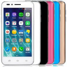 "5"" Dual Sim Android 4.4 Smart Cell Phone T-mobile AT&T Quad Core Unlocked"