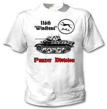116TH WINDHUND PANZER DIVISION WWII - NEW AMAZING GRAPHIC TSHIRT- S-M-L-XL-XXL