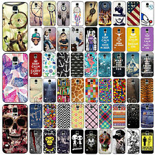 Hot For Samsung Galaxy S4 S5 HARD Protector Case Skin Phone Cover Accessory