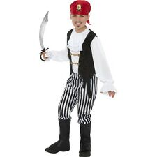 Childrens Fancy Party Pirate Costume Kids Funnyside Complete Party Dress