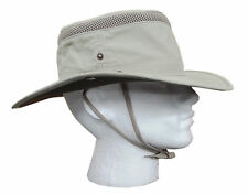 NEW MENS LADIES AIRFLOW TILLEY STYLE SUN HAT BEIGE GREEN S M L XL SUN PROTECTION