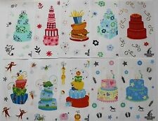 Mrs. Grossman sticker sheet You Choose - Charm City Cakes