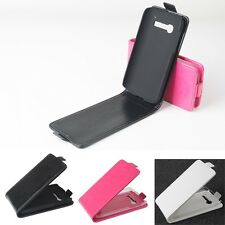 "New Original Leather Case Cover For 4.5"" Alcatel One Touch Pop C5 Smartphone UD"
