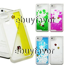 Freely Swimming Fish Clear Hard Transparent Liquid Dynamiccase for iPhone4S 5/5S
