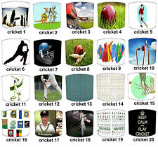 Twenty20 Test Cricket Match Table Lamp Shades Or Ceiling Light Shades Lampshades