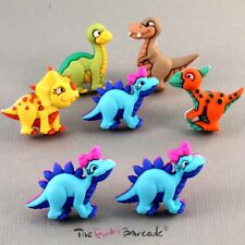 FUNKY CARTOON DINOSAUR STUD EARRINGS FUN COOL MONSTER RETRO QUIRKY CUTE KITSCH