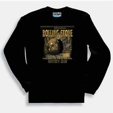 Christian LONG sleeve T-shirt Original rolling stone Jesus easter rose from dead