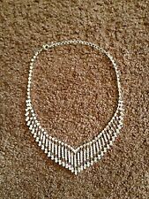 CHARMING CHARLIE DIAMOND-LIKE JEWELRY - NECKLACE, EARRINGS AND/OR BRACELET