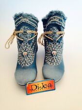 Jeans Stiefel / Designer Schuhe / Jeans Schuhe / DiJea-Collection / Dakota