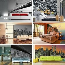 Wall mural wallpaper Cityscape GIANT WALL ART New York San Francisco Brooklyn