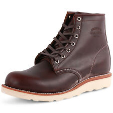Chippewa 1901M16 Hommes Cuir Oxblood Bottes Neuf Chaussure