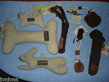 Aussie Naturals Wool or Leather Eco Friendly Dog Toys 100%Natural BEST £ ON EBAY