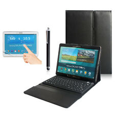 Samsung Galaxy Tab S 10.5 T800 T805 Bluetooth Keyboard with leather Case Cover