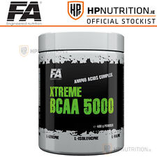 FA FITNESS AUTHORITY XTREME BCAA 5000 400g POWDER AMINO ACIDS COMPLEX RECOVERY