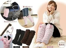 Yamazen Hot Warmer Heater Leggings - Winter home heated clothes, from Japan