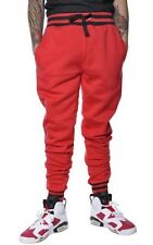 NEW MENS NWT Jordan Craig Floral Print Jogger Sweats red  S-XL