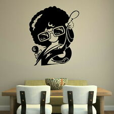 RETRO FUNKY DISCO AFRO 60S 70S WALL DECAL STICKER huge removable vinyl uk RA129
