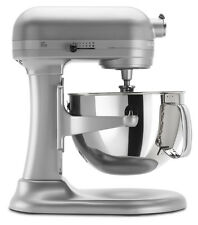 KitchenAid RKP26M1X 6 QT Pro 600 Large Capacity Stand Mixer Nickel Pearl or Red
