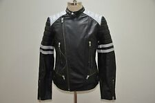 Ralph Lauren Denim and Supply Heavy Duty Motorcycle Leather Biker Bomber Jacket